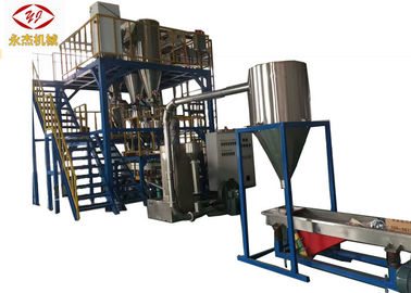 Extrudeuse de alimentation automatique de Masterbatch, machine d'extrusion de HDPE de 2 étapes